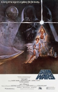 Star Wars movies money episode IV poster