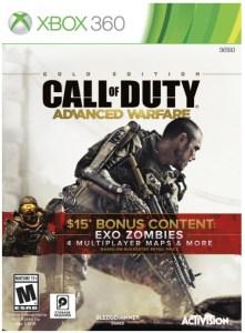 Earnings for Call of Duty Advanced Warfare