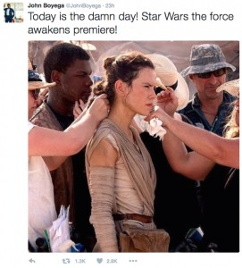 Star Wars John Boyega Earnings