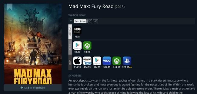 Best Movie Streaming Price Online JustWatch