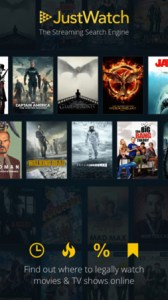 Just Watch App best movie streaming price online