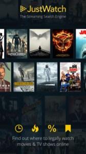 Just Watch App best movie streaming price online