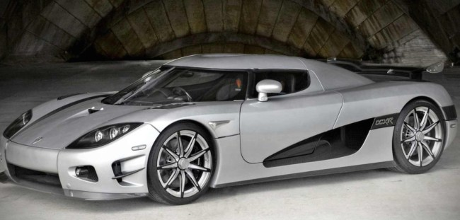 Koenigsegg CCXR most expensive car