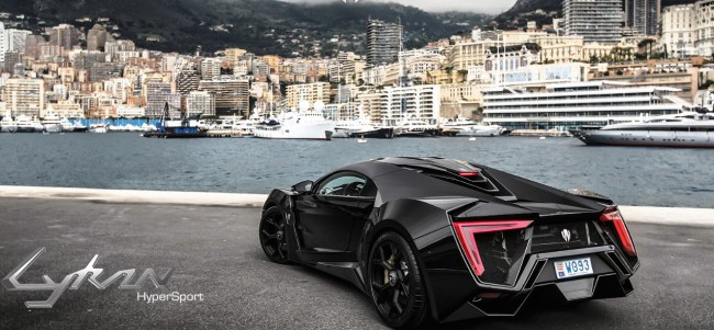 Lykan Hypersport most expensive car