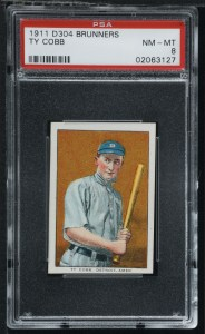 ty cobb baseball card most expensive