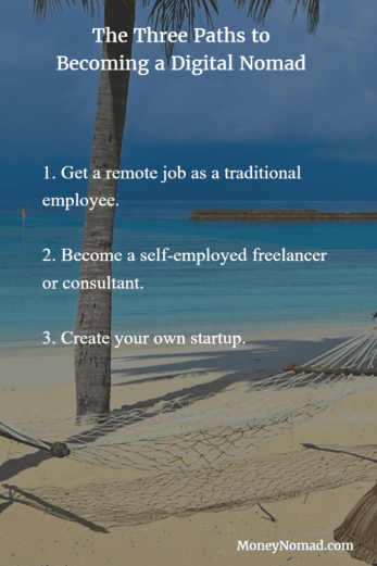 The three paths to becoming a digital nomad
