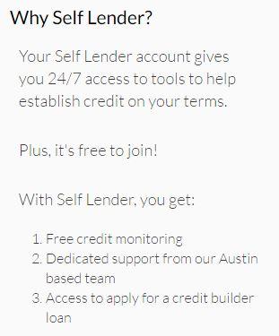 Why Self Lender