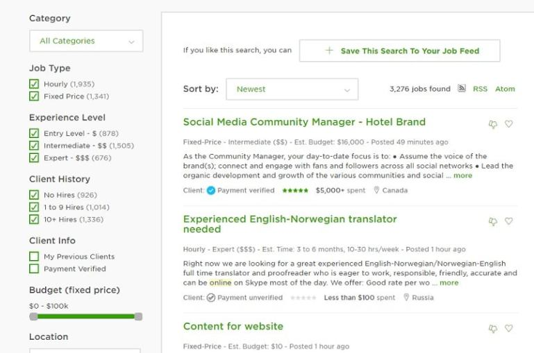 Find Upwork Whale Client