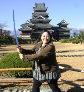 Becky Teaching English in Japan