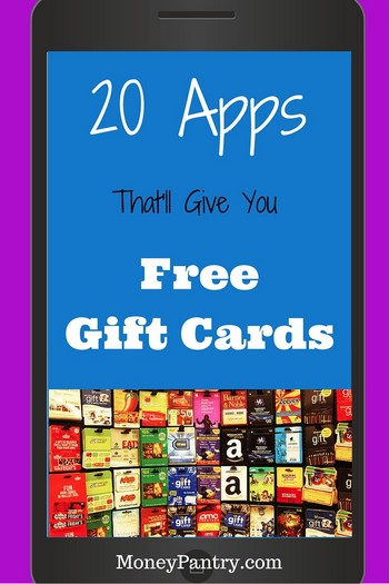 apps that earn gift cards | Infocard.co