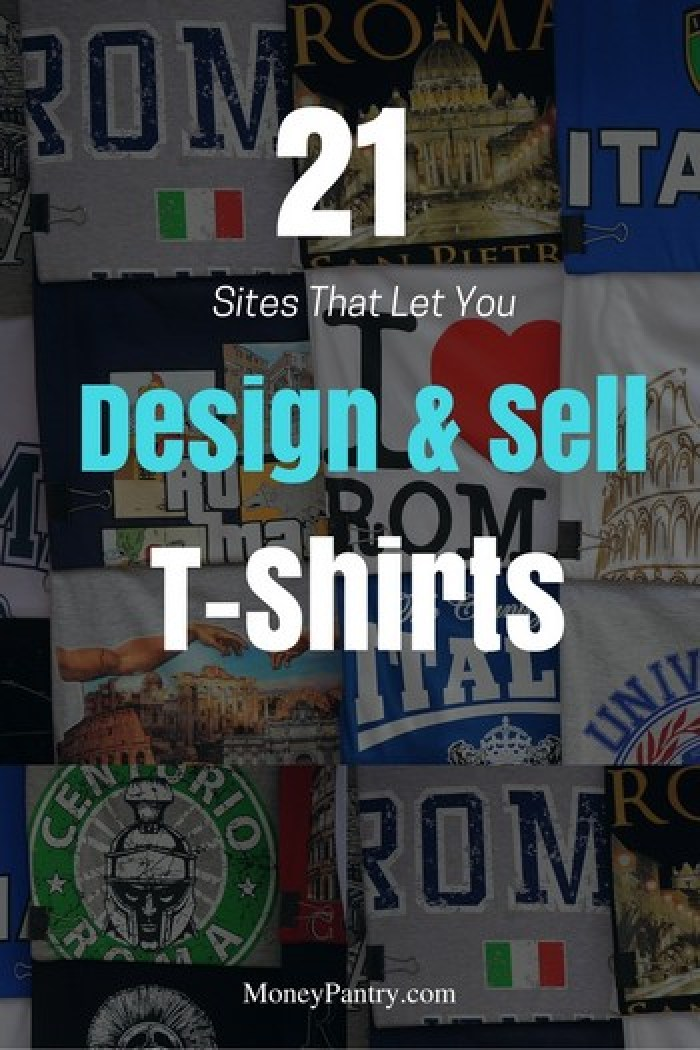 You can make good money designing and selling custom t-shirts on these sites...