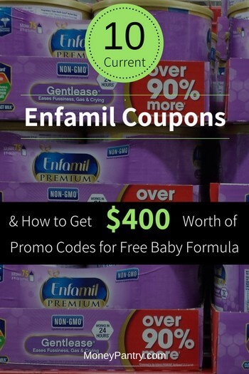 10 Current Enfamil Coupon Codes Get 400 Worth Of Promo