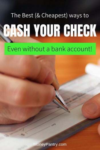 Cashing Personal Checks Without Bank