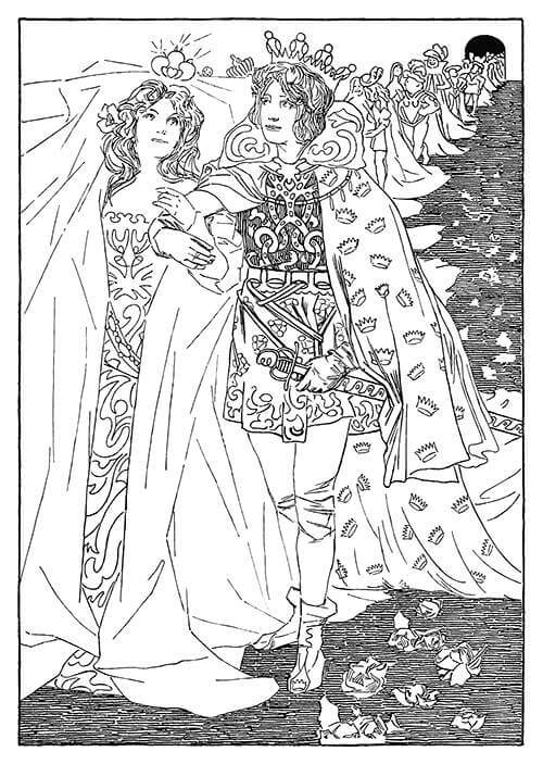Old book artwork printable vintage wall art