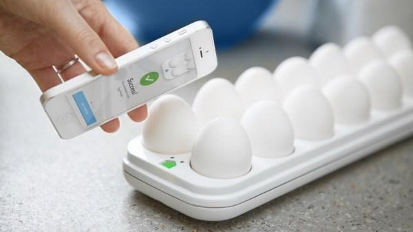 Eggminder, a 50 dollar iphone egg tray