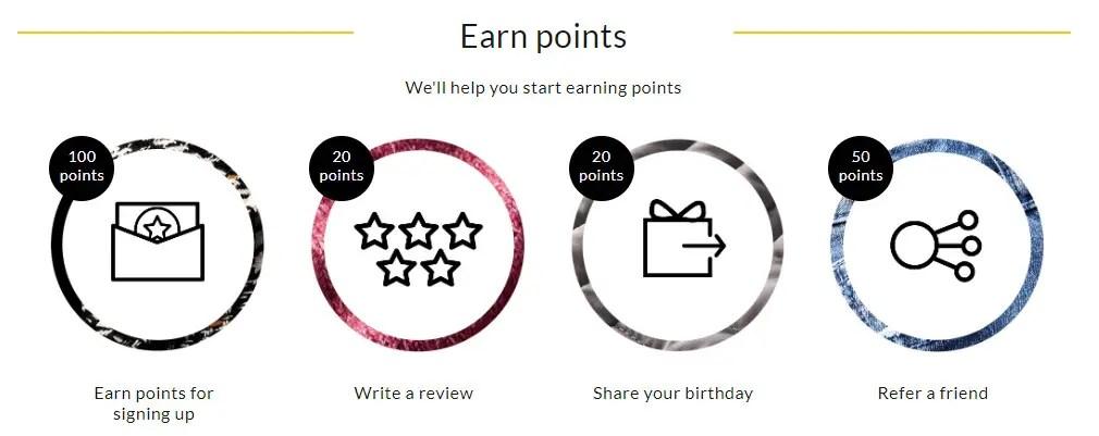 George Reward Points