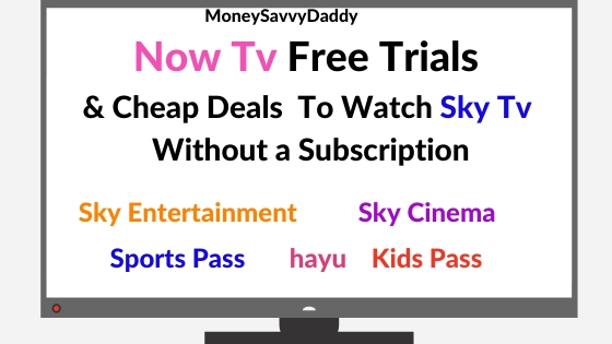 Now TV Contract Free Sky Tv
