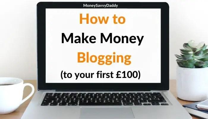 How to Make Money Blogging for beginners header