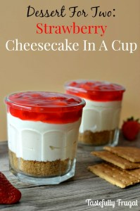 Strawberry Cheesecake-In-Cup