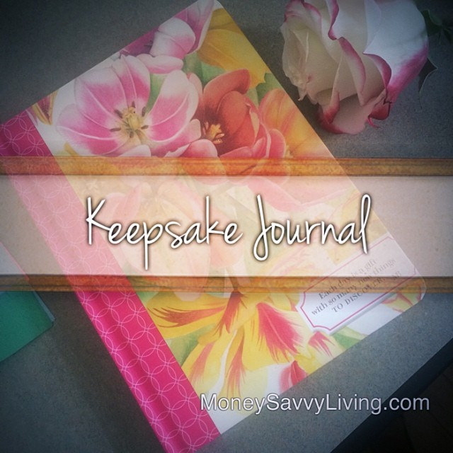Keepsake Journal | Money Savvy Living