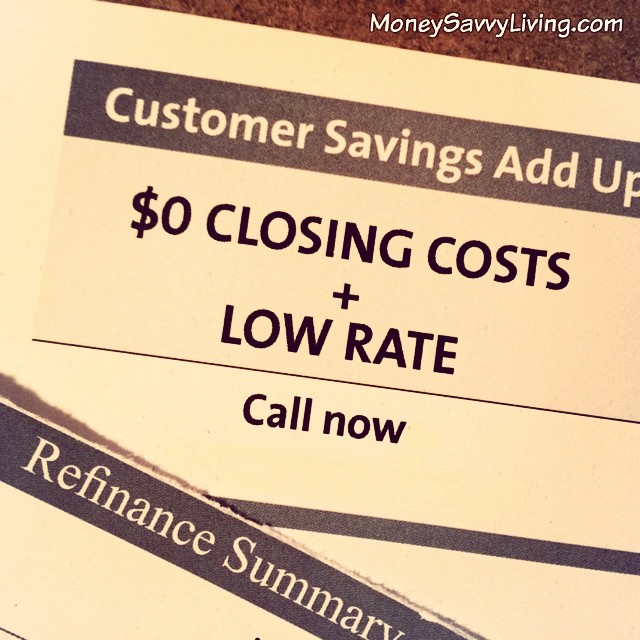 How to know if refinancing your mortgage is a good deal // Money Savvy Living #mortgage #refinance