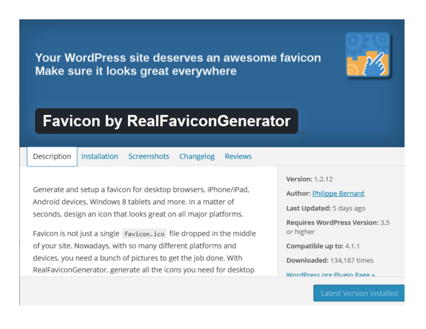 Plugin Favicon