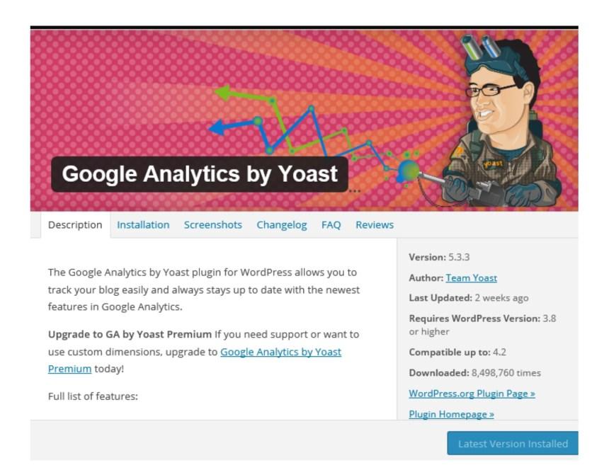 plugin google analytics