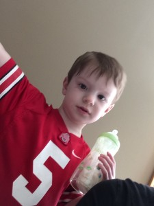 My three-year-old still likes his bottle and I'm ok with that | Money Savvy Living