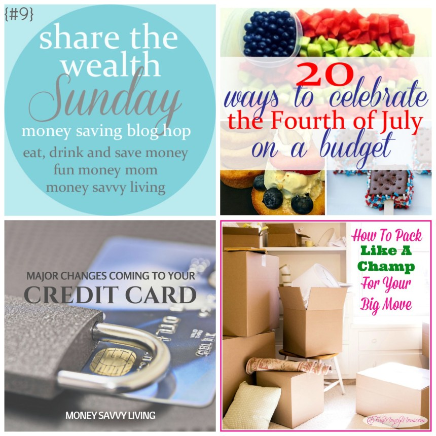 Share the Wealth Sunday 9 | Money Savvy Living