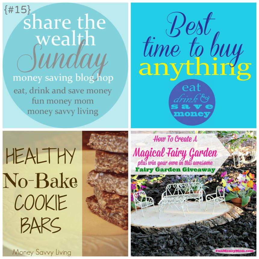 Share the Wealth Sunday #15 |Money Savvy Living