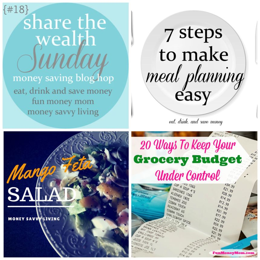 Share the Wealth Sunday 18 | Money Savvy Living