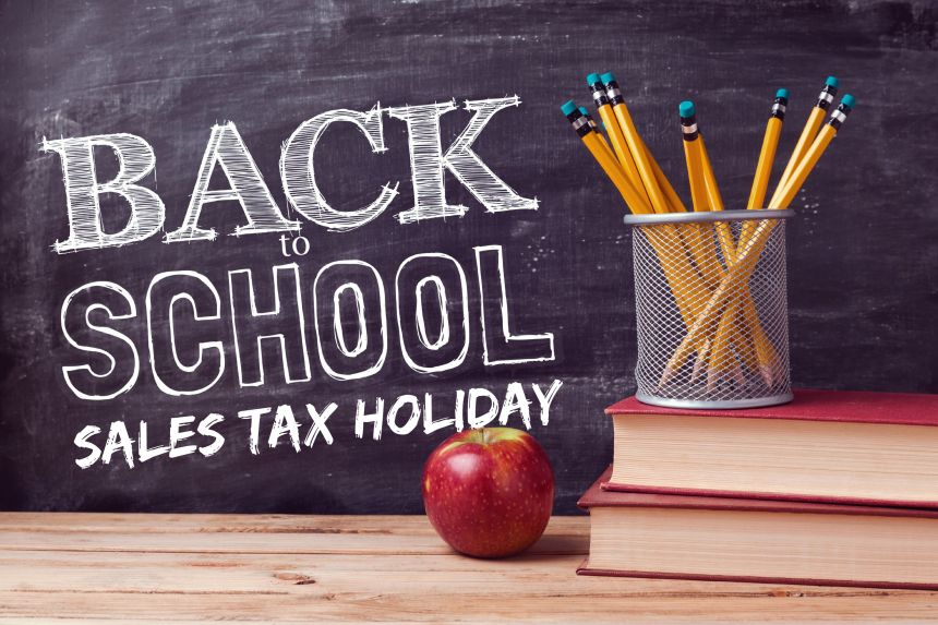 Back-to-School Sales Tax Holiday 2015 | Money Savvy Living