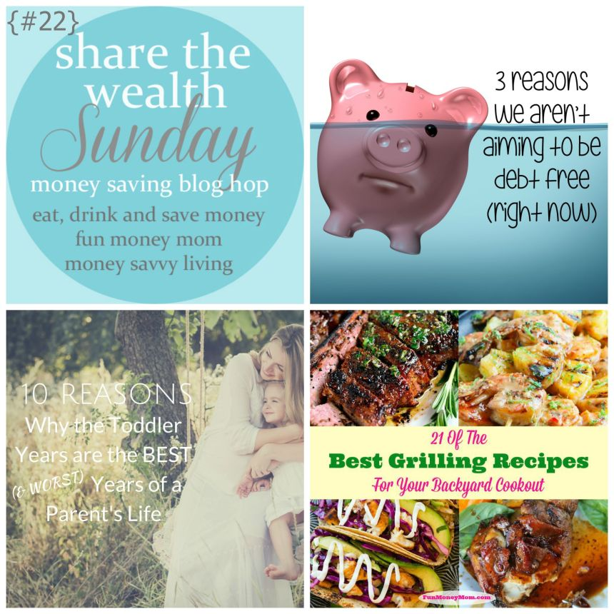Share the Wealth Sunday 22 | Money Savvy Living