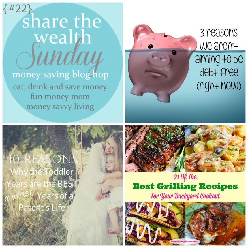 Share the Wealth Sunday 22 | Money Savvy Living