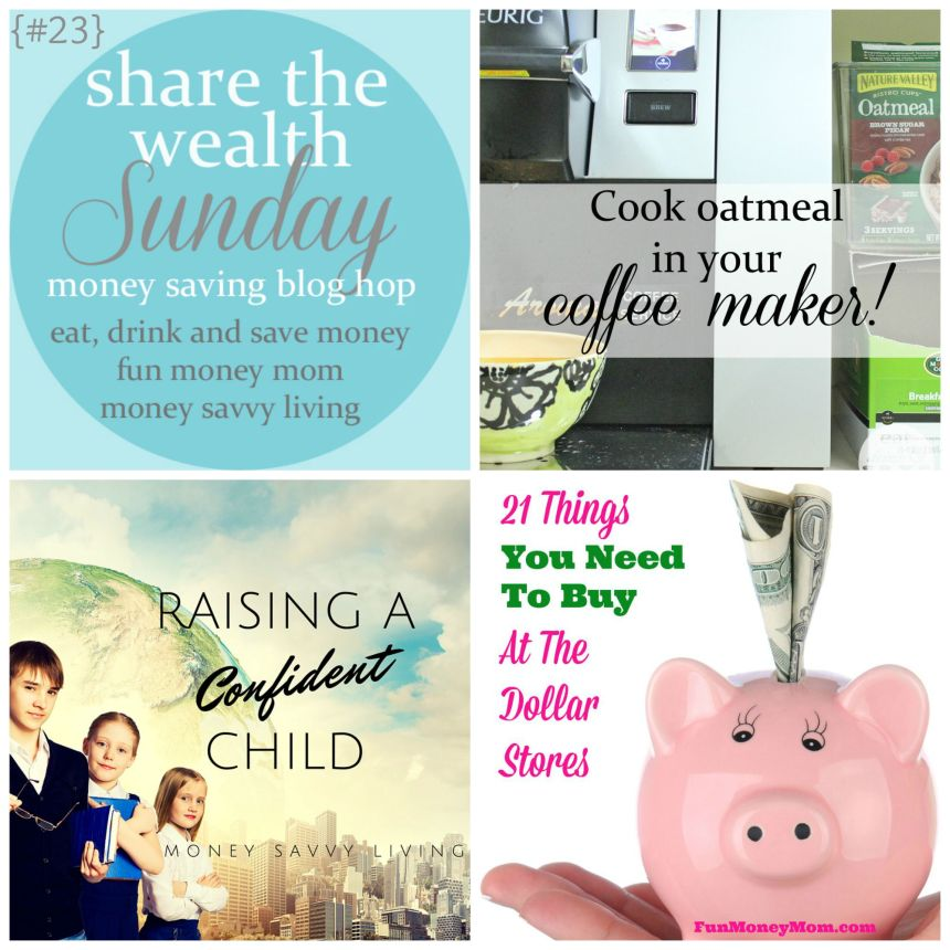Share the Wealth Sunday 23 | Money Savvy Living