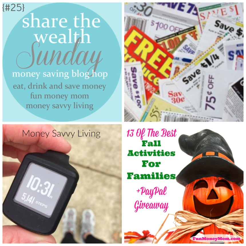 Share the Wealth Sunday 25 | Money Savvy Living