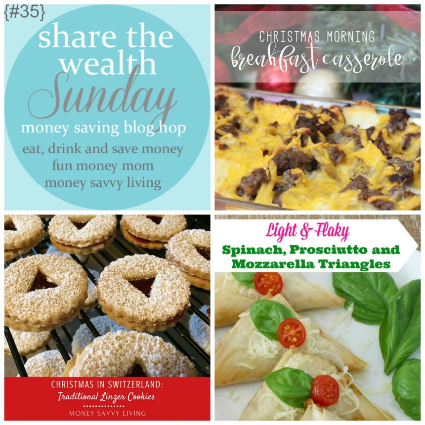 Share The Wealth Sunday 35 | Money Savvy Living