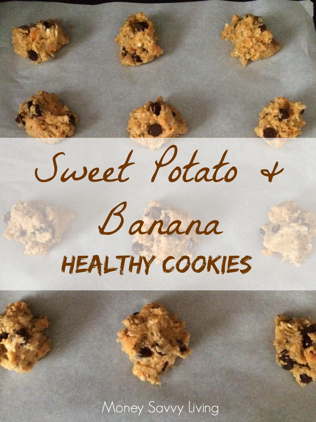 Sweet potato banana cookies | Money Savvy Living