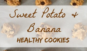 Want a sweet treat without the guilt? These sweet potato and banana cookies! Tasty... and better for you! #cookierecipe #bestcookierecipes #recipesforcookies #cookierecipeshealthy #cookies #cookieideas #bestcookies #healthycookierecipes #bananacookies #sweetpotatocookies #healthy #healthyrecipe #healthyliving #healthyeating #healthyfoods #healthyyummies #healthylife #healthysnacking #healthydessert