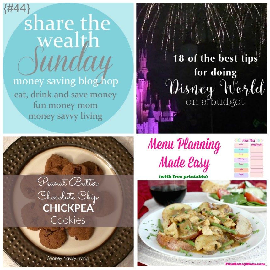 Share The Wealth Sunday 44 | Money Savvy Living