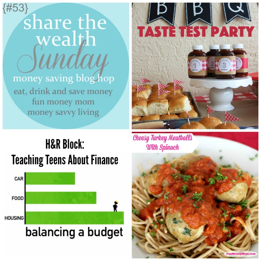 Share The Wealth Sunday 53 | Money Savvy Living