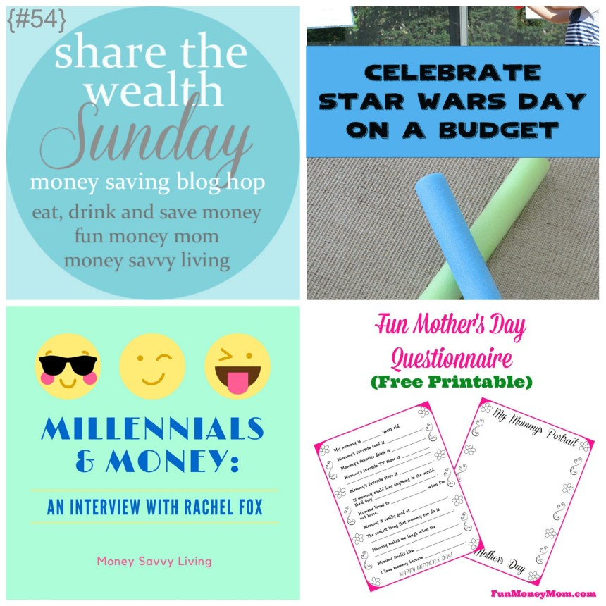 Share The Wealth Sunday 54 | Money Savvy Living