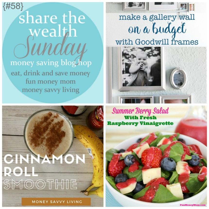 Share The Wealth Sunday 58   Money Savvy Living