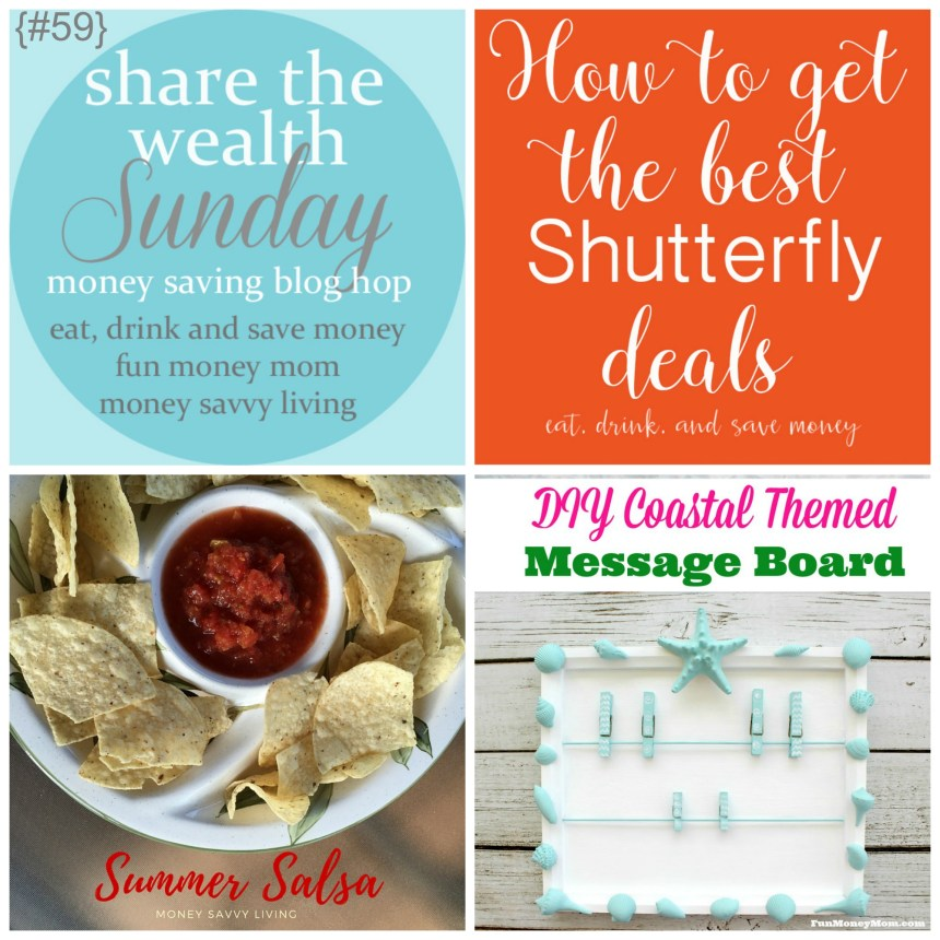 Share The Wealth Sunday 59 | Money Savvy Living