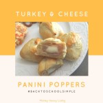 Turkey & Cheese Panini Poppers