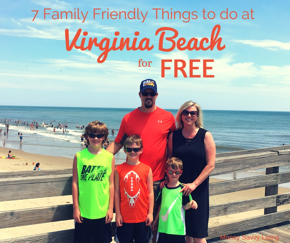 Going on a vacation to Virginia Beach? We found a lot of FREE, fun, family activities to do while you are there! 7 Family Friendly Things to do at Virginia Beach that are Absolutely FREE. #virginiabeach #beachvacation #beach #family #familytravel #familytraveladvice
