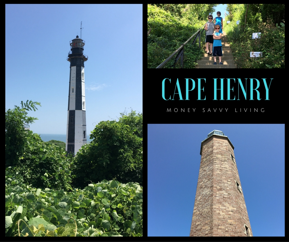 Going on a vacation to Virginia Beach? We found a lot of FREE, fun, family activities to do while you are there! 7 Family Friendly Things to do at Virginia Beach that are Absolutely FREE. #virginiabeach #beachvacation #beach #family #familytravel #familytraveladvice #capehenry #fortstory #vabeach #lighthouse