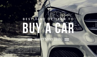 When is the Best Time of Year to Buy a New Car? Here are some tips to get the best deal when uying a new car. #car #carbuyingtips #personalfinance #autoloan #auto #carloan #newcar #usedcar