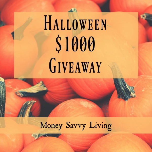 Fall $1000 Cash Giveaway   Money Savvy Living