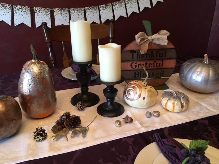 Thanksgiving Tablescape | Money Savvy Living
